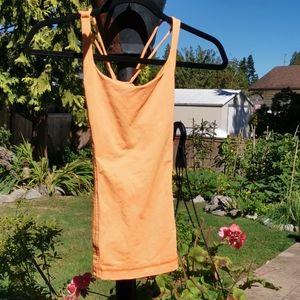 Lululemon Orange Yoga Top